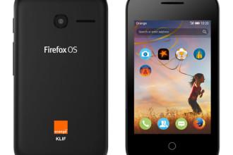 Mozilla Firefox OS Orange Klif 3G 40 Dollar Smartphone Volcano Black Colour JUUCHINI